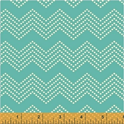 Mosaica 39562-2 Aqua Chevron by French Bull for Windham