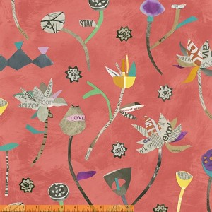 Paint 39695-3 Coral Lotus by Such Designs for Windham
