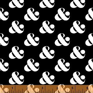 Ampersand 39744-1 Black Set Ampersand by Windham