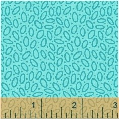 Mimosa 39987-4 Aqua Rice Paper by Windham