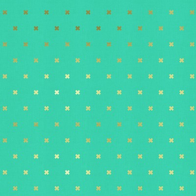 XOXO 5001-09 Teal by Cotton + Steel