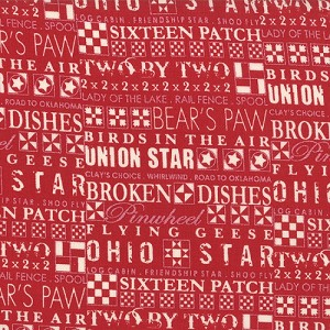Mama Said Sew 5491-11 Apple Red The Block by Sweetwater EOB