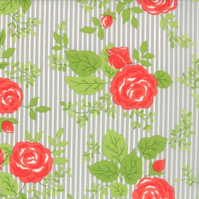 Happy Go Lucky 55060-14 Gray Bloom by Bonnie & Camille for Moda