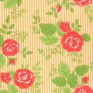 Happy Go Lucky 55060-16 Orange Bloom by Bonnie & Camille for Moda