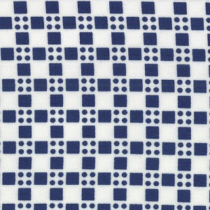 Happy Go Lucky 55066-27 Navy Skip by Bonnie & Camille for Moda