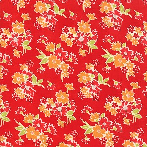 Miss Kate 55091-11 Red Spring by Bonnie & Camille for Moda