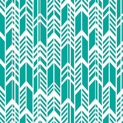 Sun Print Feathers 7244-T Teal by Alison Glass for Andover