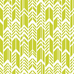 Sun Print Feathers 7244-V Olive Green by Alison Glass for Andover