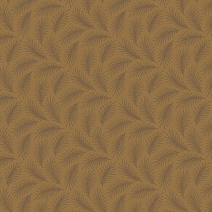 Downton Abbey 7332-N Brown Downton Feather by Andover