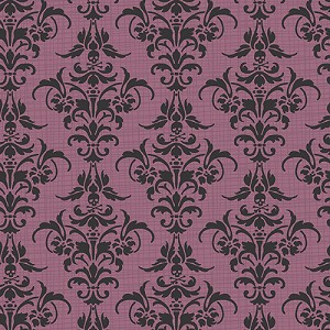 Chillingsworth 7446-P Purple Damask by Andover