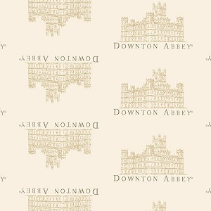 Downton Abbey 7618-L Cream Small Castle by Andover