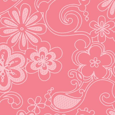 Sweet Harmony 9595-22 Pink Tonal Floral by Henry Glass