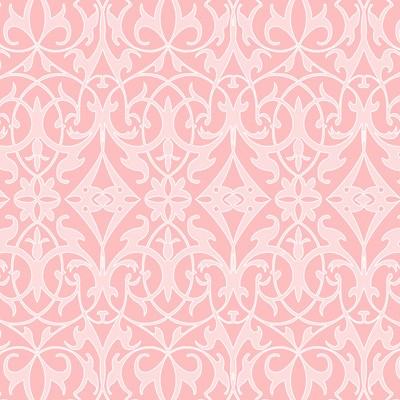 Sweet Harmony 9598-22 Pink Damask by Henry Glass EOB