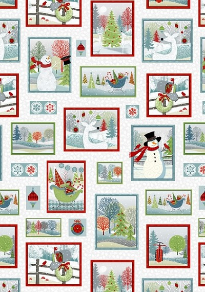 Holiday Cheer 9689-09 Patchwork by Henry Glass
