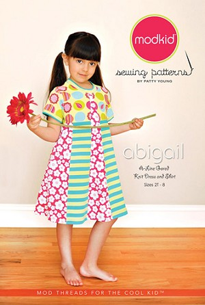 Abigail Shirt and Dress Pattern by Patty Young for modkid