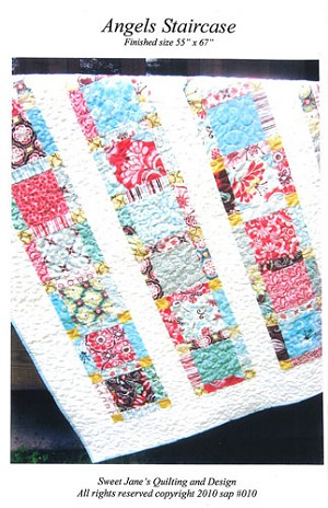 Angels Staircase Quilt Pattern by Sweet Jane's Quilting