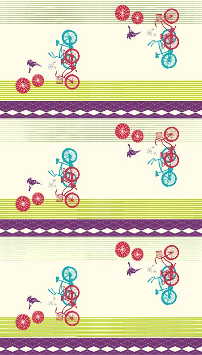 Avalon BF-01 Natural Beach Cruisers by Birch Fabrics EOB