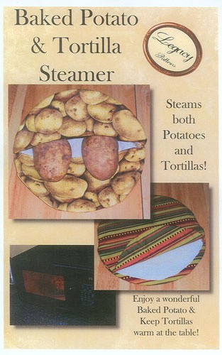 Baked Potato & Tortilla Steamer by Legacy Patterns
