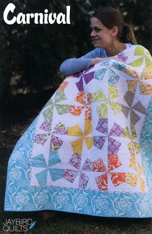 Carnival Quilt Pattern by Jaybird Quilts
