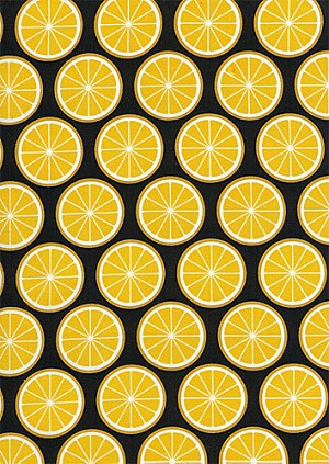 Fruit a la Carte C8383 Citrus Lemons by Timeless Treasures