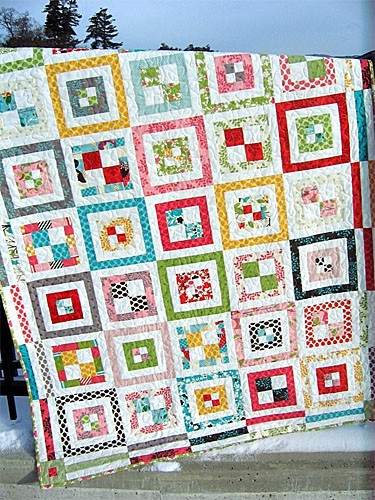 Cobblestone Path Quilt Pattern by Sweet Jane's Quilting