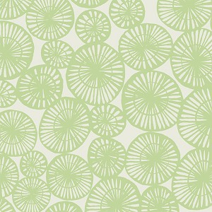 Feather N Stitch 110.101.07.3 Green Nest by Blend Fabrics EOB