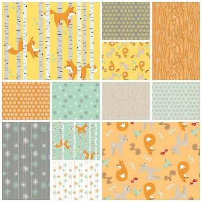 Good Natured 13 Fat Quarter Set by Marin Sutton for Riley Blake