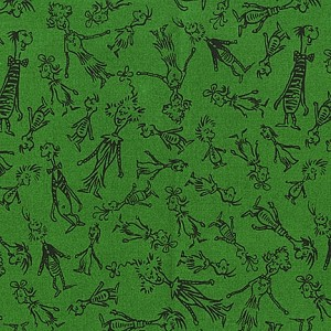 How the Grinch Stole Christmas 11226-7 Green by Dr. Seuss- R. Kaufman EOB