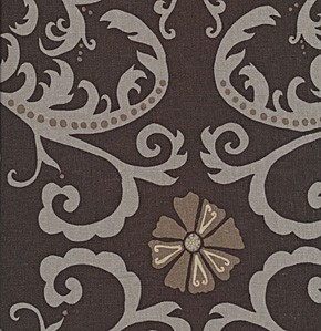 Jenaveve LVW03 Toffee Tribal Floral by Valori Wells for Free Spirit