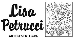 Lisa Petrucci Embroidery Pattern by Sublime Stitching