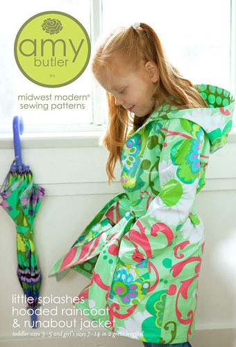 Little Splashes Hooded Raincoat & Runabout Jacket by Amy Butler