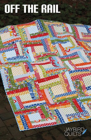 Off the Rail Quilt Pattern by Jaybird Quilts