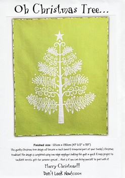 Oh Christmas Tree Quilt Pattern by Don't Look Now