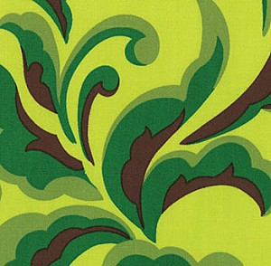 Oops A Daisy 32483-17 Green Fern by Keiki for Moda