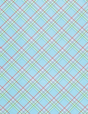 Sugar Hill PWTW048 Blue Plaid by Free Spirit EOB .92 yd