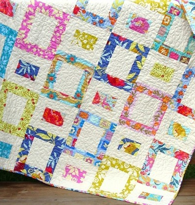 Painted Windows Quilt Pattern by Carlene Westberg Designs