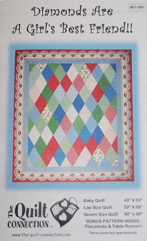 Diamonds Are A Girl's Best Friend Quilt Pattern