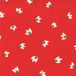 Sophie 32506-14 Tomato Soup Petal by Chez Moi for Moda