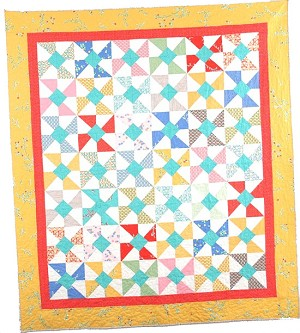 Swirly Pop Quilt Pattern by Cluck Cluck Sew