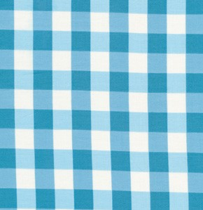 Tea Cakes VM43 Cornflower Checkered Napkin by Free Spirit FQ