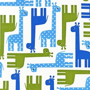 Urban Zoologie 13955-4 Blue Giraffes by Robert Kaufman