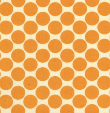Lotus AB13 Tangerine Full Moon Polka Dot by Amy Butler