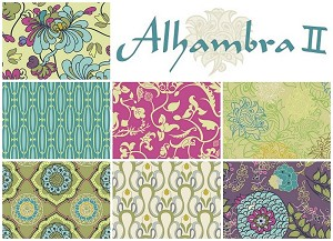 Alhambra II 7 Half Yard Set by Art Gallery Fabrics