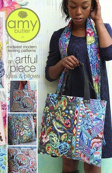An Artful Piece Totes & Pillows Pattern by Amy Butler