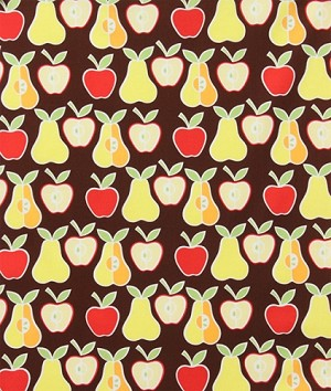 Apples and Pears - Brown 6658-AR by Alexander Henry