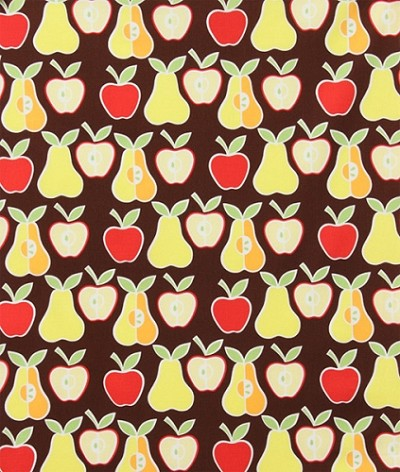 Apples and Pears 6658-AR Brown by Alexander Henry