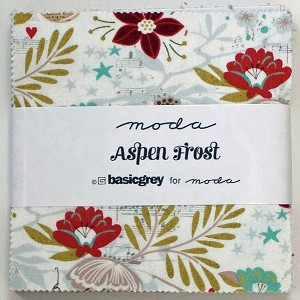 Aspen Frost Charm Pack by Basic Grey for Moda