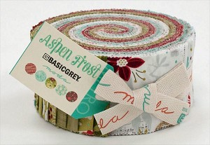 Aspen Frost Jelly Roll by Basic Grey for Moda