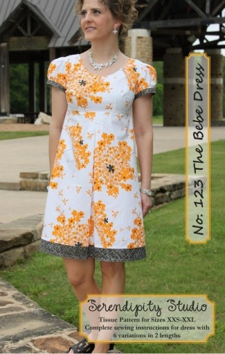 The Bebe Dress Pattern by Serendipity Studio