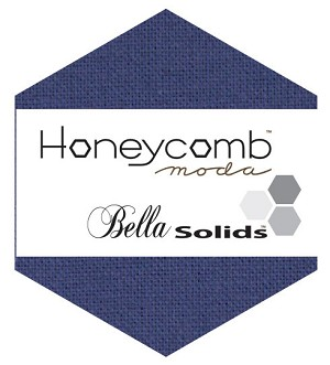 Bella Solids Honeycomb 9900HC-48 Blue by Moda